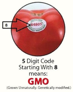 food label gmo