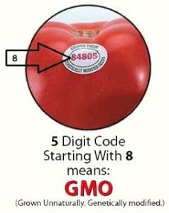food label gmo
