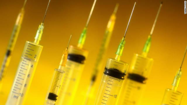 vaccine syringes