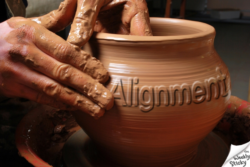 Potters Clay Alignment