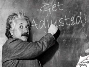 einstein get adjusted