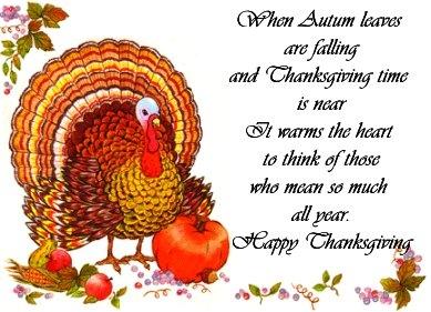 Happy Thnaksgiving