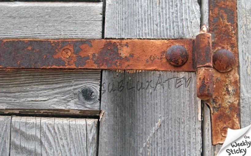 Rusty Subluxated Hinge