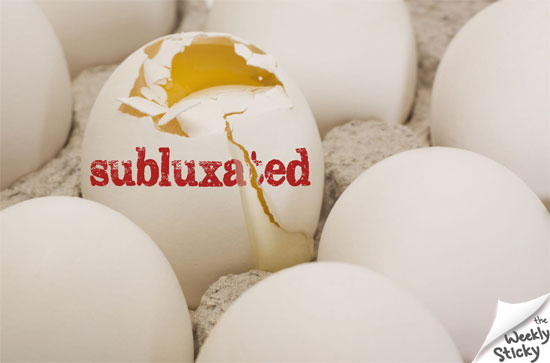 subluxated egg